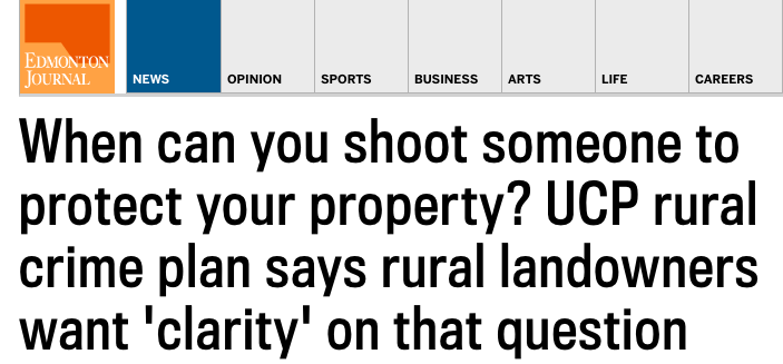 When Can You Shoot Someone to Protect Your Property