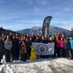 Competitors from Canada, the U.S., Australia, and the U.K. at Whistler-Blackcomb, B.C.